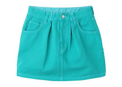 X-Girl Tucked Mini Skirt Greenの写真