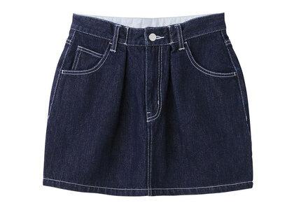 X-Girl Tucked Mini Skirt Indigoの写真
