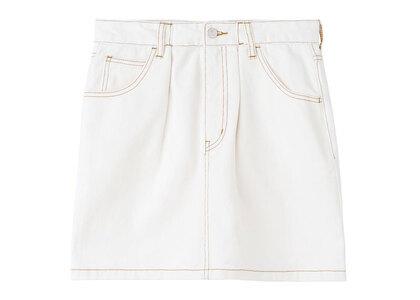 X-Girl Tucked Mini Skirt Whiteの写真