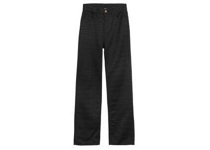 X-Girl Twill × Lace Pants Blackの写真