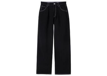 X-Girl Wide Tapered Pants Black (XS-M)の写真