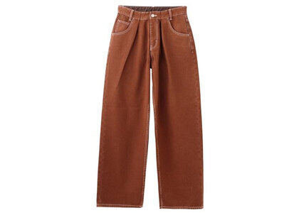X-Girl Wide Tapered Pants Brown (XS-M)の写真
