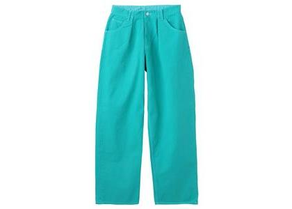 X-Girl Wide Tapered Pants Green (XS-M)の写真