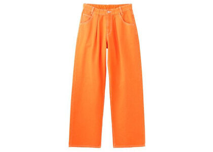 X-Girl Wide Tapered Pants Orange (XS-M)の写真