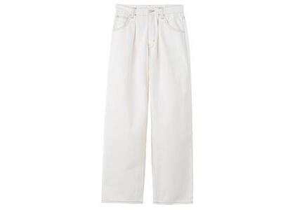 X-Girl Wide Tapered Pants White (XS-M)の写真
