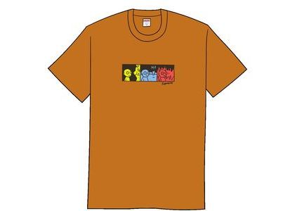 Supreme Life Tee Burnt Orangeの写真