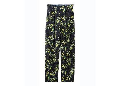 X-Girl Floral Leopard Aloha Tucked Pants Grayの写真