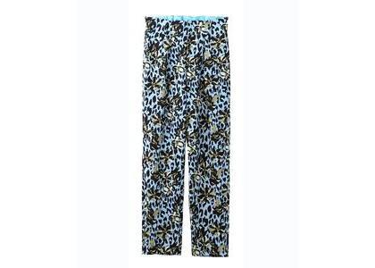 X-Girl Floral Leopard Aloha Tucked Pants Light Blueの写真