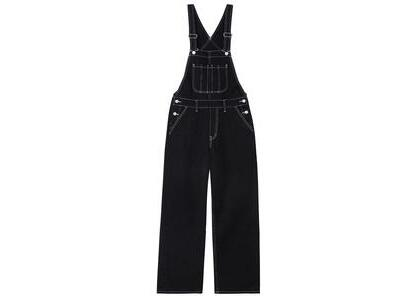 X-Girl Wide Tapered Overall Black の写真