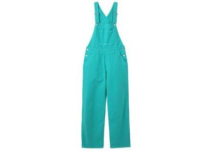 X-Girl Wide Tapered Overall Greenの写真