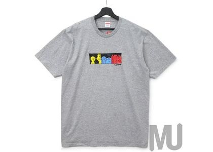 Supreme Life Tee Heather Greyの写真