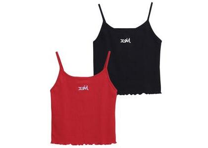 X-Girl 2-Pack Camisole Black/Redの写真