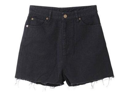 X-Girl 5 Pocket High Waist Short Pants Blackの写真