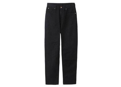 X-Girl 5 Pocket Tapered Pants Blackの写真