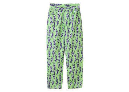 X-Girl 5 Pocket Tapered Pants Light Greenの写真