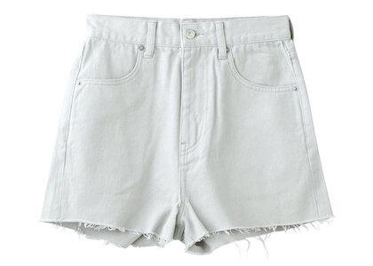 X-Girl Basic High-Waisted Short Pants Light Grayの写真