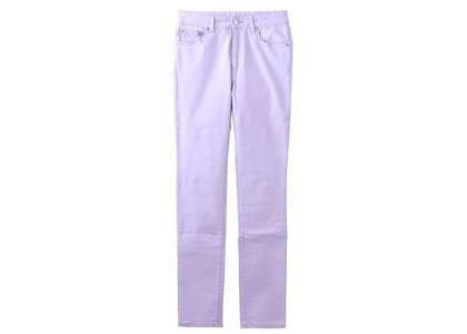 X-Girl Basic Skinny Pants Light Purpleの写真