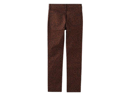 X-Girl Bicolor Skinny Pants Beigeの写真