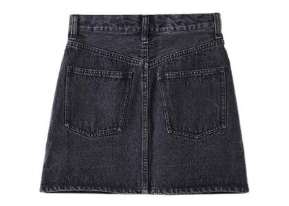 X-Girl BiColor Skirt Blackの写真