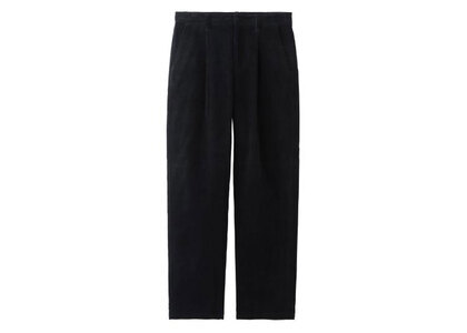 X-Girl Corduroy Tucked Pants Blackの写真