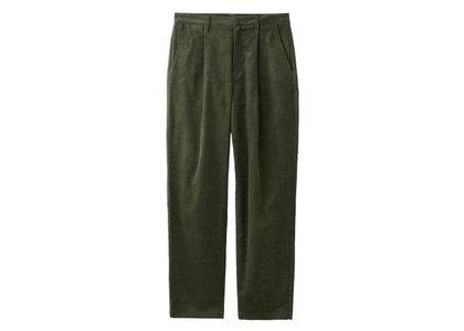 X-Girl Corduroy Tucked Pants Oliveの写真