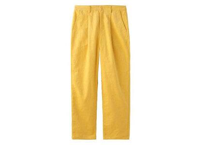 X-Girl Corduroy Tucked Pants Yellowの写真