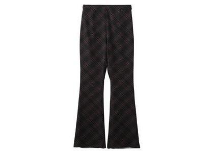 X-Girl Diamond Plaid Flare Pants Blackの写真