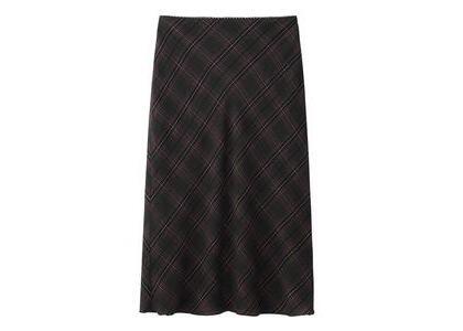 X-Girl Diamond Plaid Midi Skirt Blackの写真