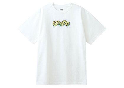 X-Girl Embroidered SunFlower Logo S/S Tee Whiteの写真