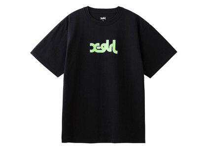 X-Girl Glitter Mills Logo S/S Tee Blackの写真