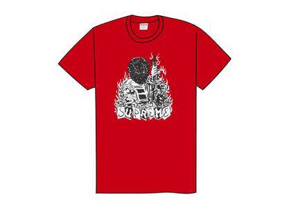 Supreme Mercenary Tee Redの写真