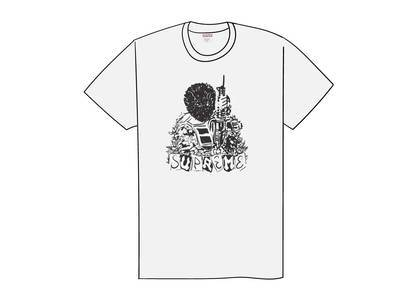 Supreme Mercenary Tee Whiteの写真