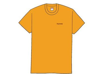 Supreme Martin Wong Big Heat Tee Bright Orangeの写真