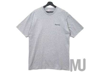 Supreme Martin Wong Big Heat Tee Heather Greyの写真