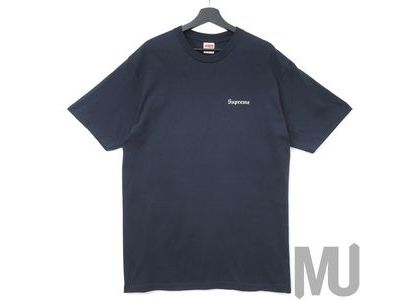 Supreme Martin Wong Big Heat Tee Navyの写真