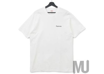 Supreme Martin Wong Big Heat Tee Whiteの写真