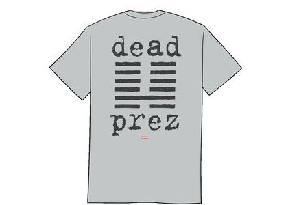 Supreme dead prez Tee Heather Greyの写真