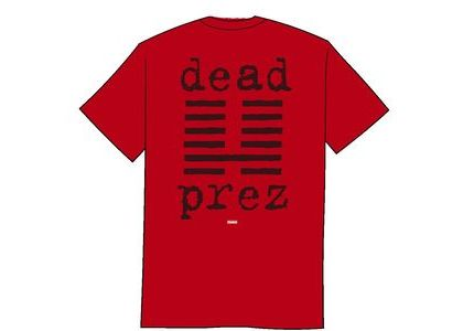 Supreme dead prez Tee Redの写真