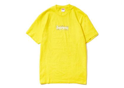 Supreme Bandana Box Logo Tee Yellowの写真