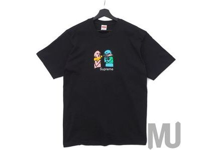 Supreme Bite Tee Blackの写真