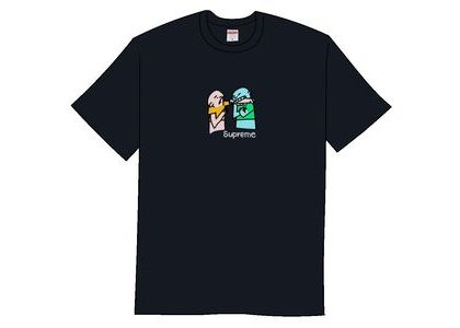 Supreme Bite Tee Navyの写真