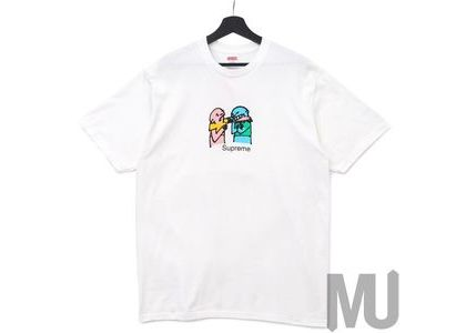 Supreme Bite Tee Whiteの写真
