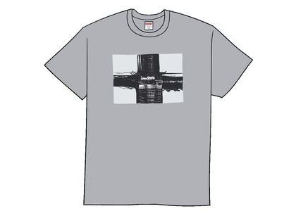 Supreme Bridge Tee Heather Greyの写真