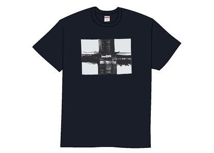 Supreme Bridge Tee Navyの写真