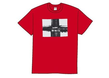 Supreme Bridge Tee Redの写真