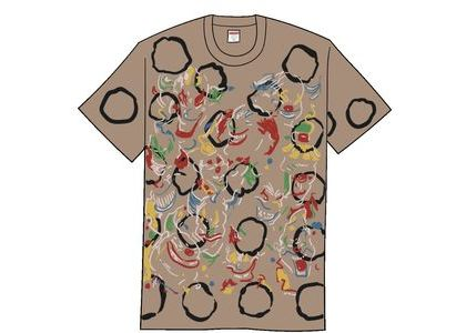 Supreme Clowns Tee Bleached Blackの写真