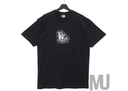 Supreme Eat Me Tee Blackの写真