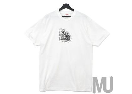 Supreme Eat Me Tee Whiteの写真