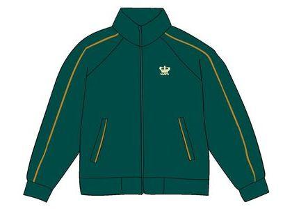 Supreme Crown Track Jacket Greenの写真