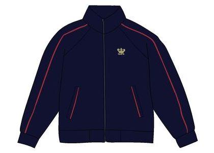 Supreme Crown Track Jacket Navyの写真